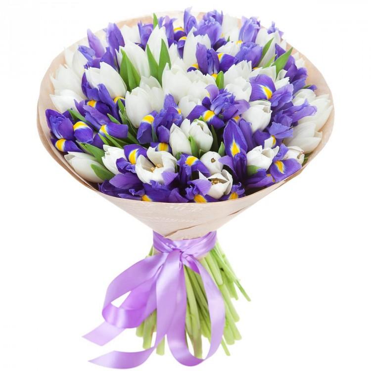 Маленькие букет из весенних цветов картинки, заказ харькове