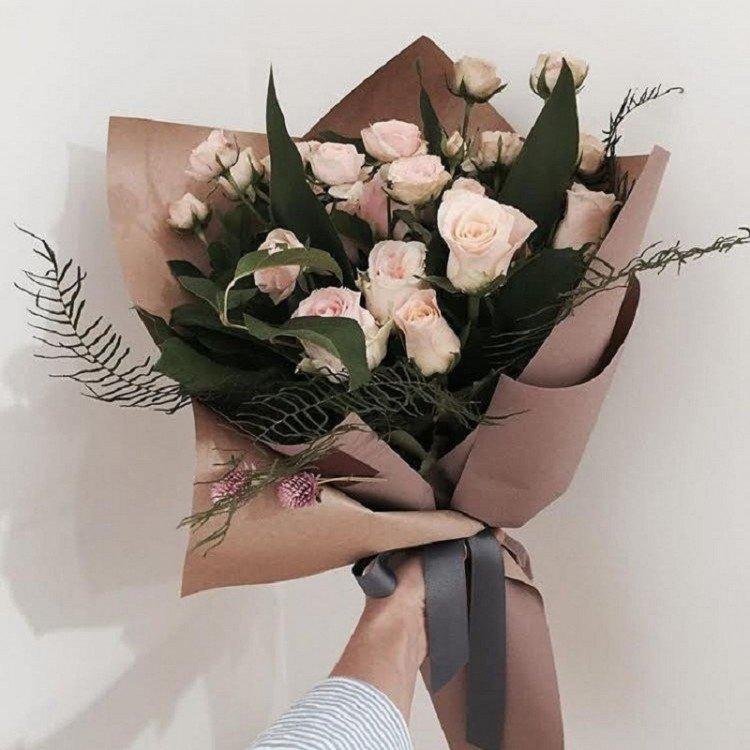 Роз гран, букет цветов за 700 руб