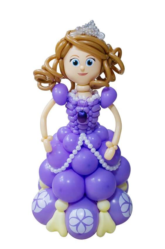 Кукла из воздушных шаров
