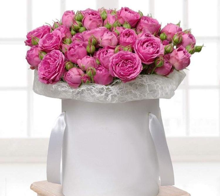Магазине, доставка цветов москва спб в коробке