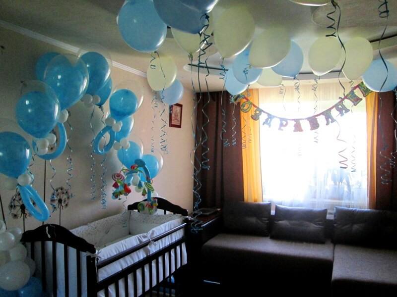 Украсить комнату при рождении ребенка своими руками 13
