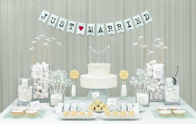 "Candy Bar №14 ""Just Married"""